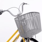 Highly durable bicycle basket